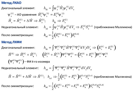 Ниже дано сравнение схем